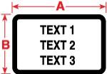 018391 - Polyesteretiketten für M611, BMP61 und BMP71