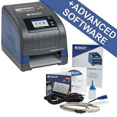 241125 - i3300Etikettendrucker für die Industrie mit WLAN–EU, mit Brady Workstation-Suite für die