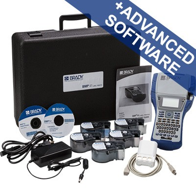 198650 - BMP41Etikettendrucker–Set für die Anwendung im elektrischen Bereich–EU