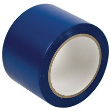 058221 - Bodenmarkierband, Blau, 75 mm x 33 m, Vinylband (B-726)