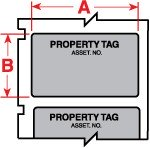 018439 - Polyesteretiketten für M611, BMP61 und BMP71