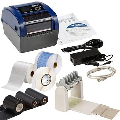 198591 - BBP12Etikettendrucker, 300dpi–Set für die Anwendung im elektrischen Bereich–EU
