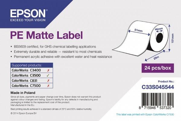tt1502 - Epson Etikettenrolle, Kunststoff (Polyethylen), 51mm