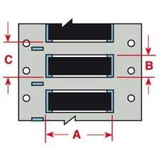 142869 - PermaSleeve Schrumpfschläuche aus Polyolefin für die Drucker BBP33/i3300