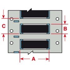142929 - PermaSleeve Schrumpfschläuche aus Polyolefin für die Drucker BBP33/i3300