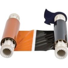 013528 - BBP85 Farbband 220mm, zweifarbig, 380mm Panele : Schwarz/Orange