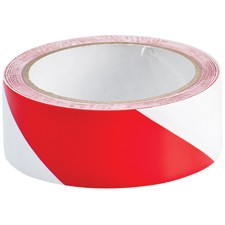 055295 - Langlebiges Markierungsband, Rot/Weiß, 38 mm x 16,5 m - B-950 m