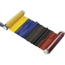 013533 - BBP85 Farbband 158mm, vierfarbig, 200mm Panele : Schwarz/Rot/Blau/Gelb