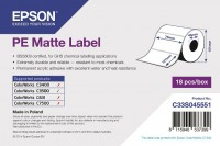 tt1670 - Epson Etikettenrolle, Kunststoff (Polyethylen) 76x127mm
