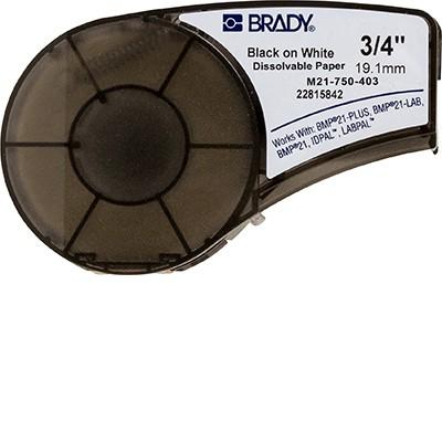 149608 - Wasserlösliche Papieretiketten für die Druckermodelle BMP21, BMP21-PLUS und BMP21-LAB
