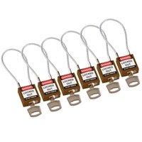 195981 - Kompakte Sicherheitsschlösser–mit Kabelbügel