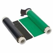 013705 - BBP85 Farbband 158mm, zweifarbig, 380mm Panele : Schwarz/Grün
