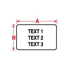 011238 - Polyesteretiketten für M611, BMP61 und BMP71