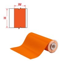013647 - BBP85 Band, reflektierend, 250 mm, Orange