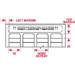 014396 - LaserTab Etiketten für Laserdrucker