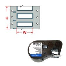 143222 - PermaSleeve Schrumpfschläuche zur Kabelkennzeichnung für BMP41/BMP51/BMP53 Etikettendrucker