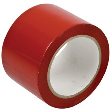 058251 - Bodenmarkierband, Rot, 75 mm x 33 m, Vinylband (B-726)