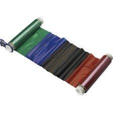 013536 - BBP85 Farbband 220mm, vierfarbig, 200mm Panele : Schwarz/Rot/Blau/Grün