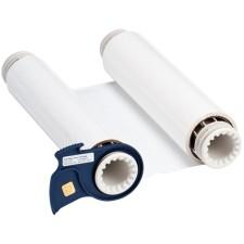 013512 - BBP85 Farbband 220 mm, einfarbig, Weiß