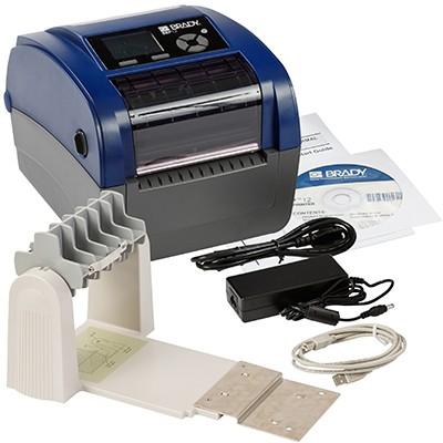 198595 - BBP12Etikettendrucker, 300dpi–EU, mit Rollenhalter und Brady Workstation-Suite für die