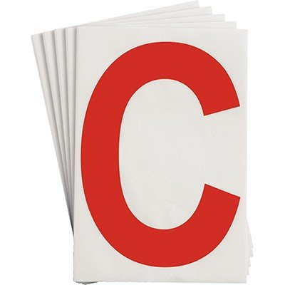 121705 - Vorgestanzte ToughStripe Zahlen und Buchstaben