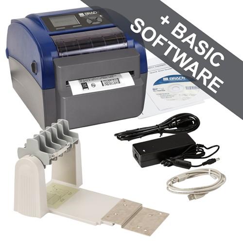 195967 - BBP12 Etikettendrucker-300 dpi-UK-mit Schneider und Rollenhalter